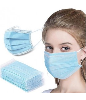 Face Mask 3 ply Box of 50