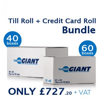 Till And Credit Card Roll Bundle (40bx + 60bx)