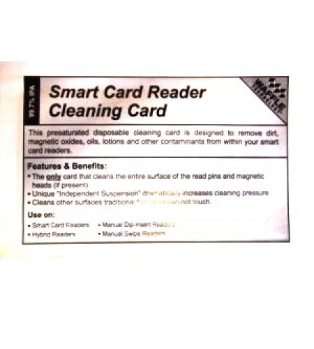 how to clean credit cards