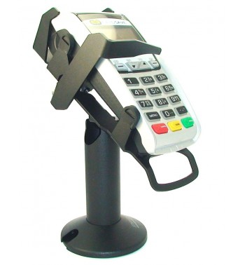 Ingenico EFT & iCT tilt & swivel credit card terminal stand with security locking arm