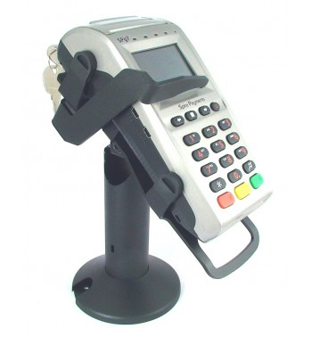 Spire SPg7 Tilt and swivel credit card terminal stand with security locking arm